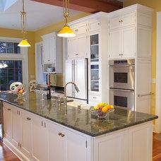 Contemporary Kitchen by Bridgewater Marble & Granite LLC