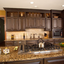 Traditional Kitchen by Bridgewater Marble & Granite LLC