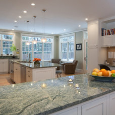 traditional kitchen by Lauren Catino, Select Stone Inc.