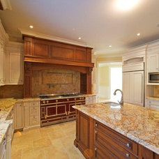 Traditional Kitchen by Kennedy Tiles and Marble, Inc.