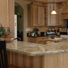 Traditional Kitchen granite