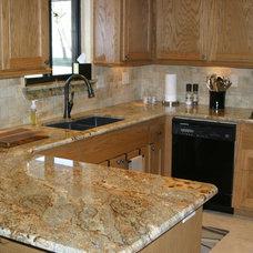 Kitchen by Friend's Custom Granite
