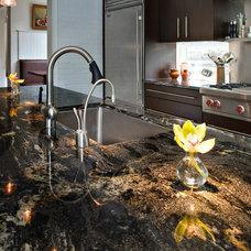 Modern Kitchen by Marblex Design International, Inc.