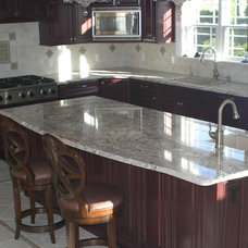 Traditional Kitchen by Aphrodite Marble Co., Inc.