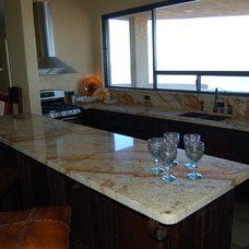 Contemporary Kitchen Granite litchen