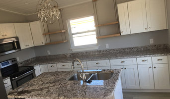 Granite Omicron Silver - Farmhouse Kitchen