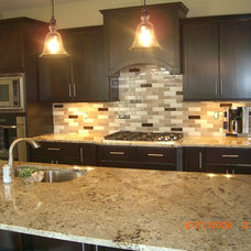 Contemporary Kitchen by Janel Campbell