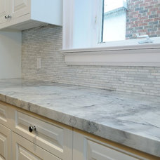Traditional Kitchen by TorontoGranite.com