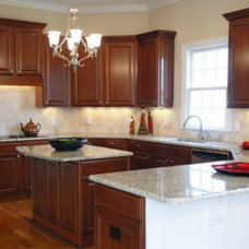 Traditional Kitchen by Stone Restoration Services