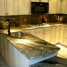 Traditional Kitchen by Stone Masters Inc