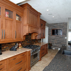 Traditional Kitchen by The Top Shop Inc.
