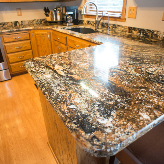 Granite Tops   Magma Gold
