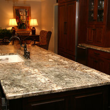 Traditional Kitchen by Stone Creek Surfaces