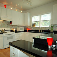 Modern Kitchen by Granite Transformations of St Louis