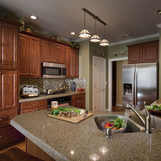 Traditional Kitchen by Granite Transformations of St Louis