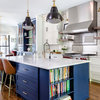 Kitchen of the Week: Smart Space Planning and Bold Style