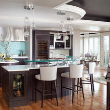 Contemporary Kitchen by Angela Otten; WmOhs Showrooms Inc