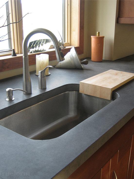 cutting board countertop | houzz