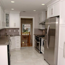 Transitional Kitchen by bowerbirds inc