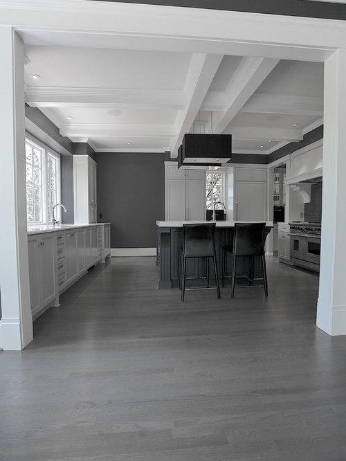 SaveEmail - Grey Hardwood Flooring Houzz