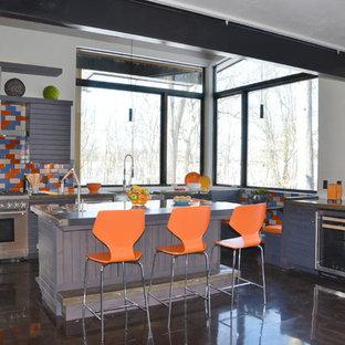 Gray Kitchen- Custom