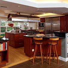 Contemporary Kitchen Gray Kitchen