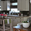 Kitchen Solution: The Open Island