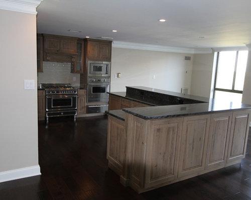 Knotty Adler Kitchen Cabinets