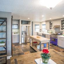Kitchen - Slate Floor, Quartz