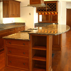 Traditional Kitchen by Taggart Construction