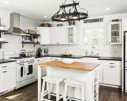 Houzz 50 Best Country Kitchen With Vinyl Floors