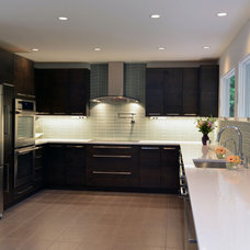 Contemporary Kitchen by Denny and Gardner