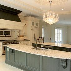 Mediterranean Kitchen by NOVA Design