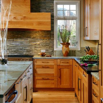 Great Falls, Virginia - Transitional - Kitchen