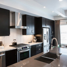 Transitional Kitchen by Natalie Fuglestveit Interior Design