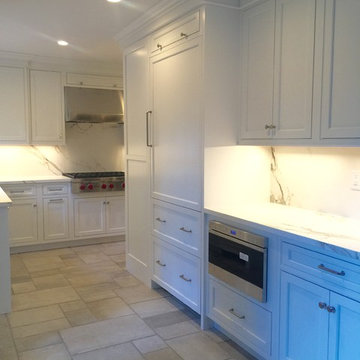 Great Neck Brick Colonial Kitchen renovation