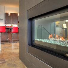 Contemporary Kitchen by Design Evolution Enterprises Inc