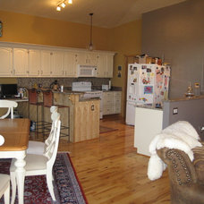 Eclectic Kitchen great room