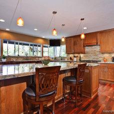 Contemporary Kitchen by Remodel Works Bath & Kitchen