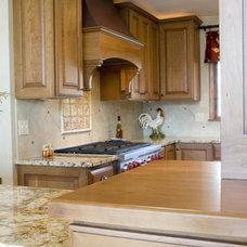 Traditional Kitchen by JP&CO. Samantha Grose, Designer