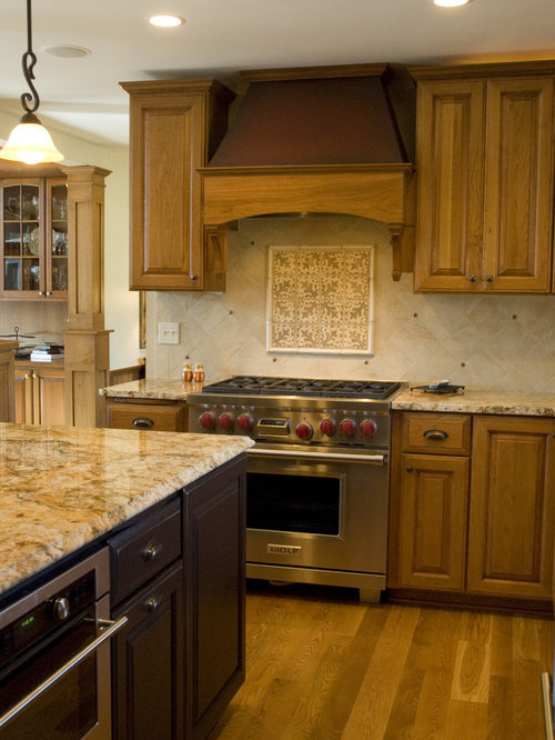 Colonial Gold Granite Countertops Houzz