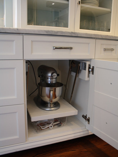 Portable Kitchen Appliance Storage Cabinet