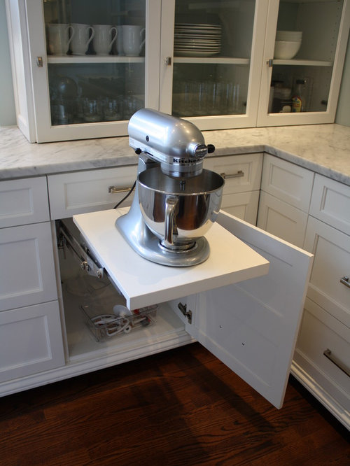 Mixer Lift With Drawer Below | Houzz
