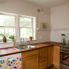 Transitional Kitchen Great User Kitchens