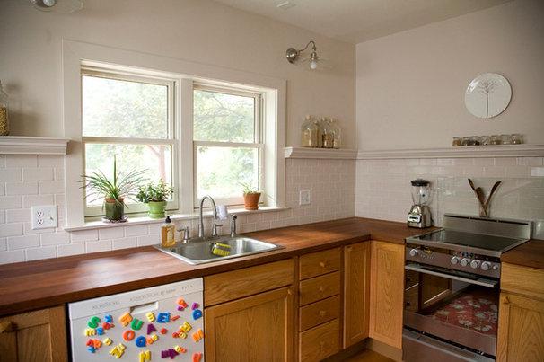 Transitional Kitchen Great User Kitchens