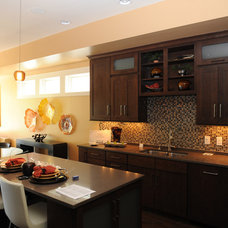 Traditional Kitchen by Sally Noble Architect, LLC