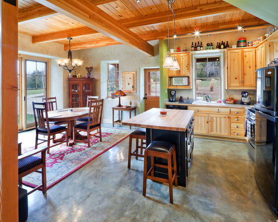 Pine Cabinets Home Design Ideas, Pictures, Remodel and Decor