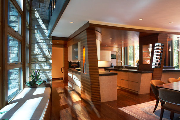 Contemporary Kitchen by RKD Architects, Inc