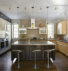 eclectic kitchen by LDa Architecture & Interiors