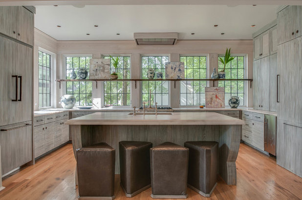 Eclectic Kitchen by Fry Classic Construction, llc